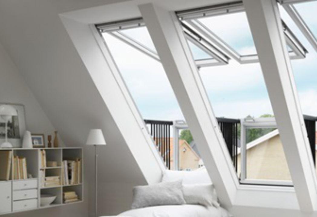 Schön Hohe Fenster Dachschraege Maisonette Ideen - Hauptinnenideen ...